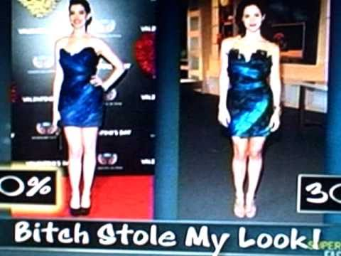 Katharine McPhee and Anne Hathaway: Bitch Stole My Look - E! Fashion Police