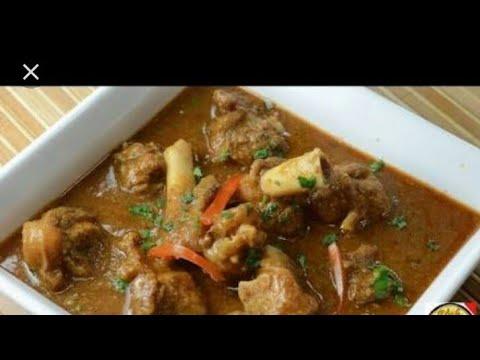 Mutton sambar in kannada