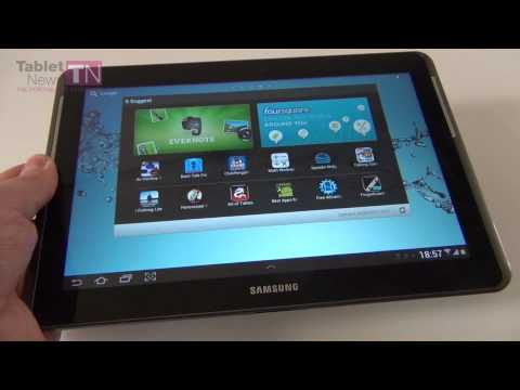 Samsung Galaxy Tab 2 10.1 Review - 10.1 Inch Android 4.0 Tablet