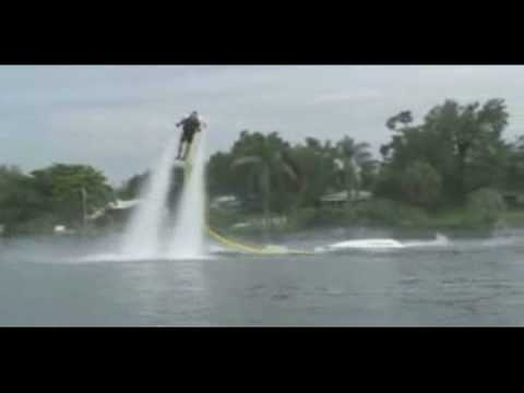 JetLev-Flyer Water Jet Pack Facts Video