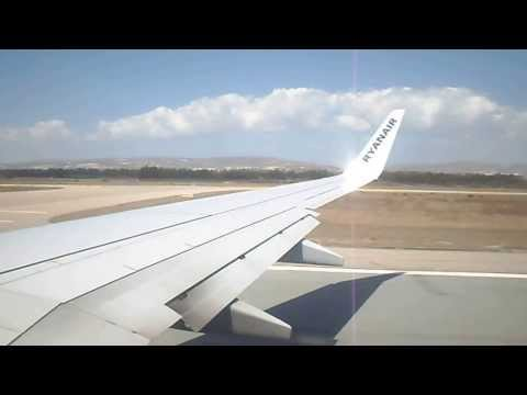RYANAIR | 737-800 | Takeoff Paphos | 5th September 2013 | (HD)
