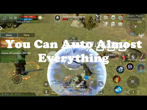 Lineage 2 Review, The Auto Game