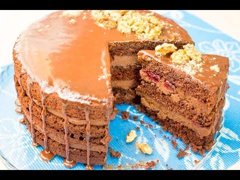 Как сделать крем для шоколадных тортов