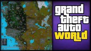 "AMAZING & DETAILED ""GTA WORLD"" CONCEPT MAP! Featuring Vice City, Las Venturas, Mexico & More!"