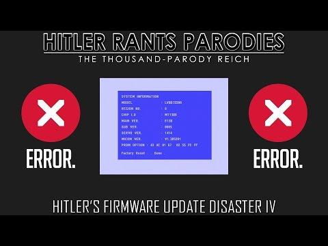 Hitler's firmware update disaster IV