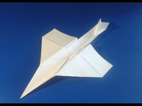 Самолётик из бумаги.Поделки из бумаги.Paper airplane.How to make a paper.Crafts with their hands.