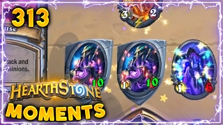 The Godly Board Clear!! | Hearthstone Gadgetzan Daily Moments Ep. 313 (Funny and Lucky Moments)