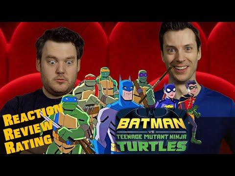 BATMAN vs Teenage Mutant Ninja Turtles - Trailer Reaction/Review/Rating