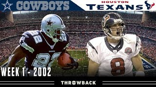 The Texans' FIRST Game! (Cowboys vs. Texans, 2002)