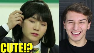 Download Lagu BTS as girls Reaction (weirdly cute) Gratis STAFABAND