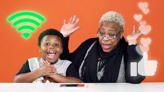 Kids Explain The Internet to Old People | Kids Explain | HiHo Kids