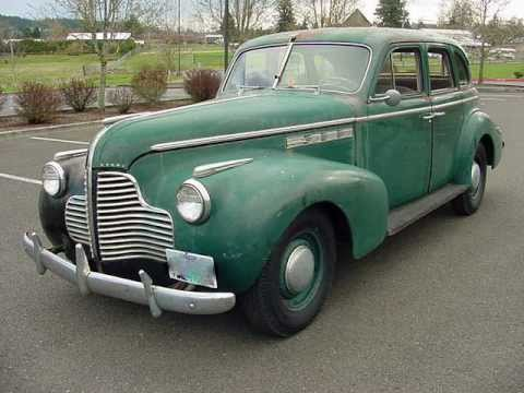 1940 Buick Special Series 40 - Fireball Straight 8 - SOLD!