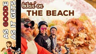 Shrimp & Crawfish Etouffee Recipe // RV Travel // Galveston Island Beach Bike Ride
