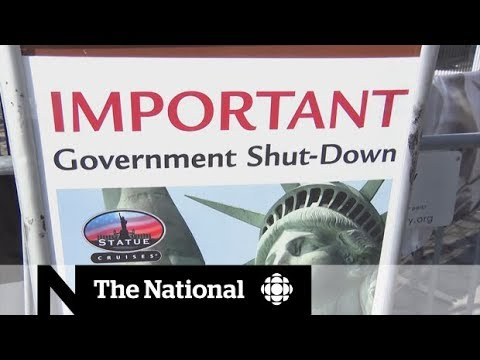 Government shutdown mars Trump's first anniversary