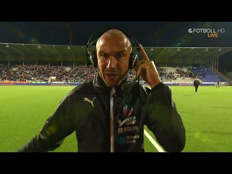 """Henrik Larsson förbannad efter förlusten: """"Ni kommer få ett par härliga quotes här"""" - TV4 Sport"""