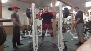 EQUIPPED SQUAT 2 x 477 LBS