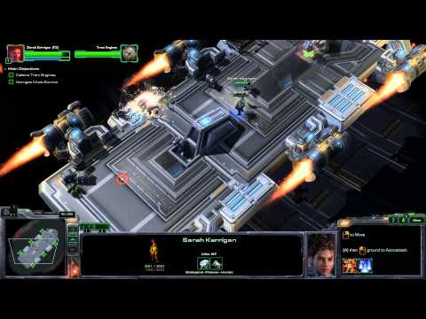 Starcraft II: Heart of the Swarm Mission 1 Campaign Walkthrough | Brutal Difficulty | Max Settings
