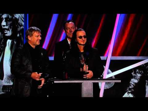 Rock and Roll Hall of Fame 2013 Rush Induction Speeches..