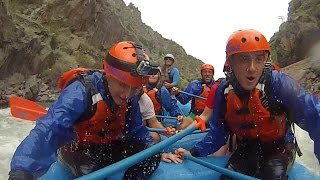White Water Rafting in Colorado! Class 5 Rapids!