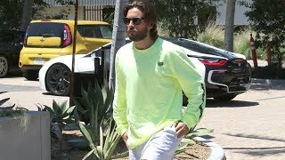 EXCLUSIVE - Scott Disick Is Naturally Cool In A Heatwave