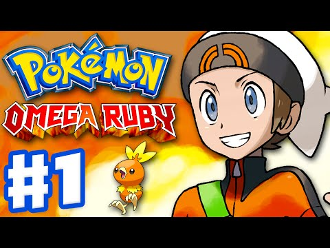 Pokemon Omega Ruby And Alpha Sapphire - Gameplay Walkthrough Part 1 - Intro And Starter Evolutions video