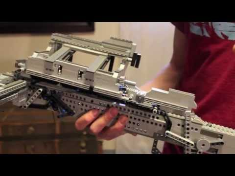 Pump-action LEGO Crossbow
