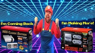 SNES Classic Edition Increasing Stock! Nes Classic Edition Coming Back!