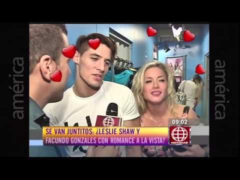 Leslie Shaw y Facundo Gonzales ¿Estarán enamorados Esto es Guerra Noticias 26 02 2015