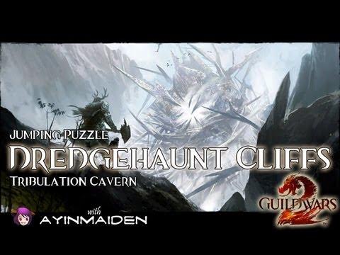 ★ Guild Wars 2 ★ - Jumping Puzzle - Dredgehaunt Cliffs (Tribulation Caverns)