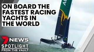 Ride Like the Wind | Sailing race sees yachts literally flying at over 100km/hr | Sunday Night