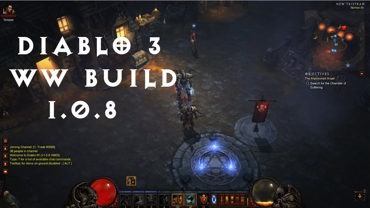 Diablo  Barbarian Ww Build