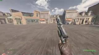 Fallout 4 - Double Action .44 Revolver WIP