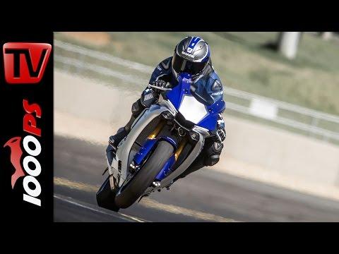 2015 | Yamaha YZF-R1 Test | R1M | Action, Sound, Fazit
