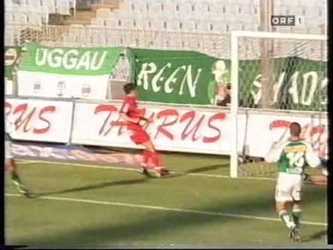 Rapid - FC Tirol 9. Runde 2000/2001
