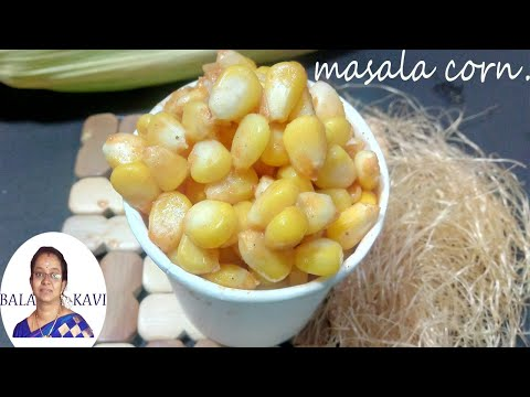 masala corn |Spicy masala corn in tamil | Masala Sweet Corn Recipe |