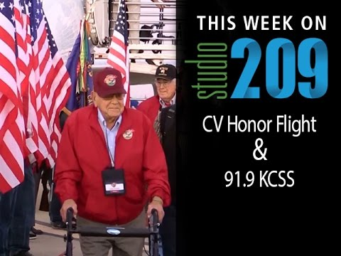 We visit the Castle Air Force Base in Atwater to welcome back WWII veterans from their Honor Flight to Washington D.C. And later, we pop into the studio at 9...