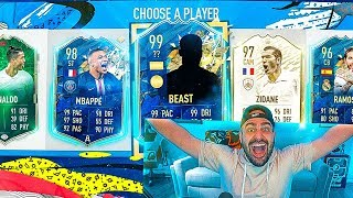 OMG YOU WONT BELIEVE THIS!! I GOT THE RAREST 99 RATED CARD EVER! FIFA 20 Ultimate Team Fut Draft