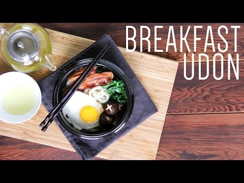 Japanese Breakfast Udon | Quick and Easy Breakfast Recipe