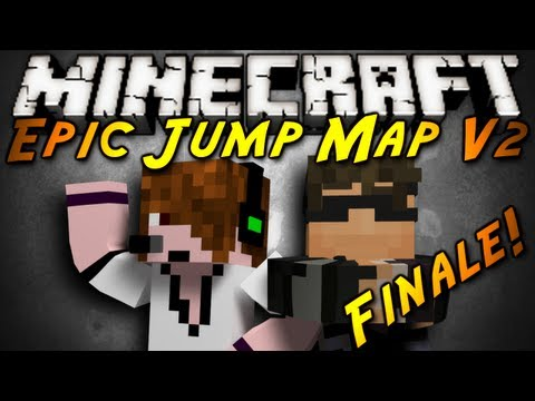 Minecraft: Epic Jump Map V2 Finale!