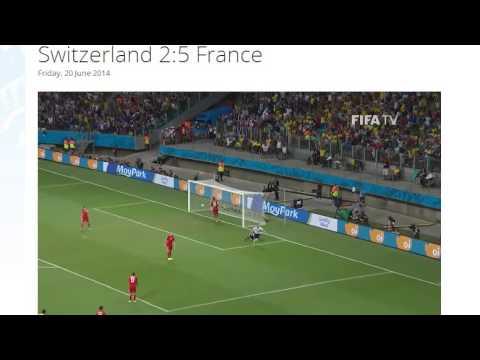 Switzerland 2-5 France All Goals & Highlights HD ( FIFA World Cup Brasil 2014)
