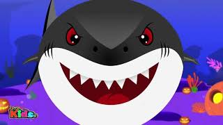 Scary Flying Shark vs Baby Shark   Kids Songs   Videos for Children