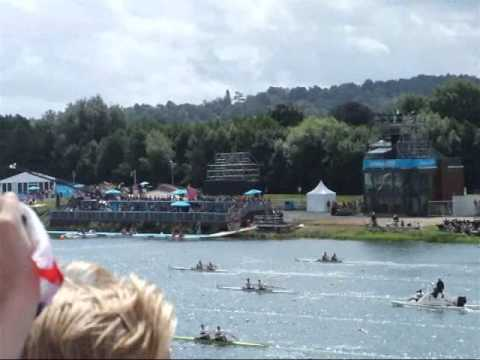 London 2012 Olympic Rowing @ Eton Dorney - Final Day 04/08/12