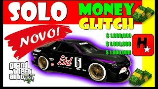 GTA 5 ONLINE 1.43: SOLO Money GLitch | GTA V EASIEST Solo Car Duplication Glitch Dinheiro Infinito