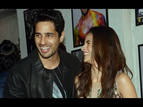 Sidharth Malhotra and shraddha kapoor at Dabboo Ratnani calendar launch 2016