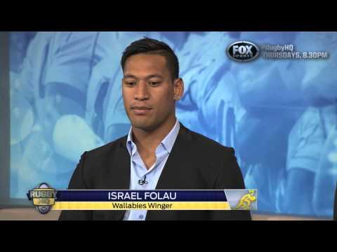 RUGBY HQ - ISRAEL FOLAU