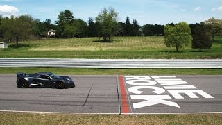 Flat Out In The Hennessey Venom GT At Lime Rock Park