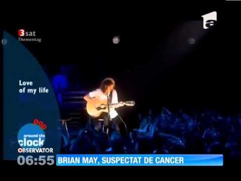 Chitaristul formaţiei Queen, Brian May, ar putea suferi de cancer osos