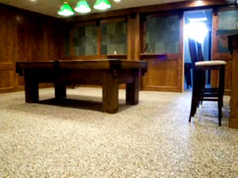 Nature Stone®  Basement Floor Video