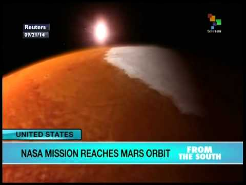 NASA mission reaches Mars orbit