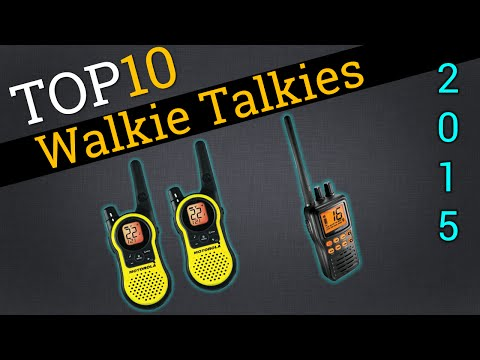 Top 10 Walkie Talkies 2015 | Compare 2 Way Radios